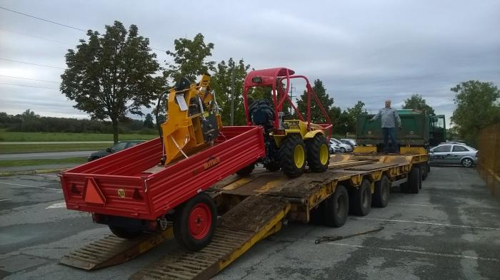 Tractor Articulat Forestier Ecotrac 40 Forest