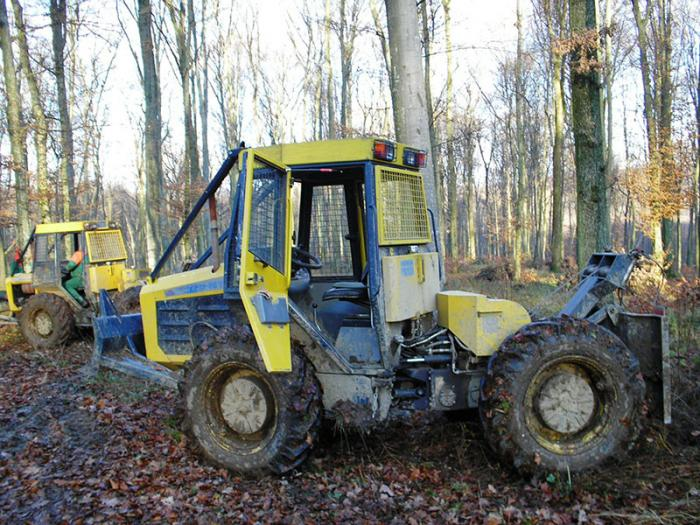 Tractor Articulat Forestier Ecotrac 55 V