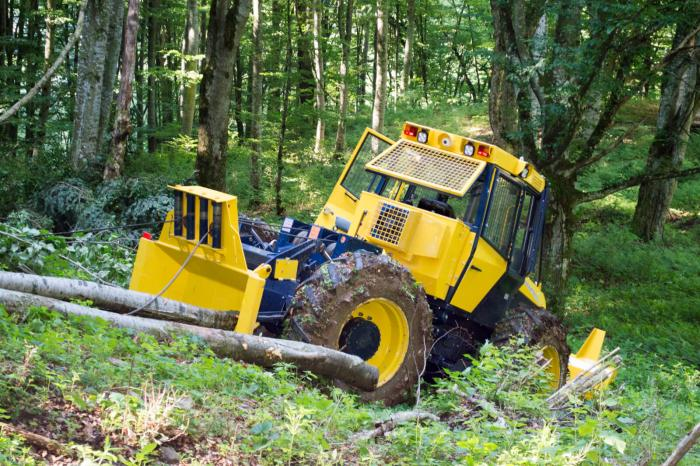 Tractor Articulat Forestier Ecotrac 120 V